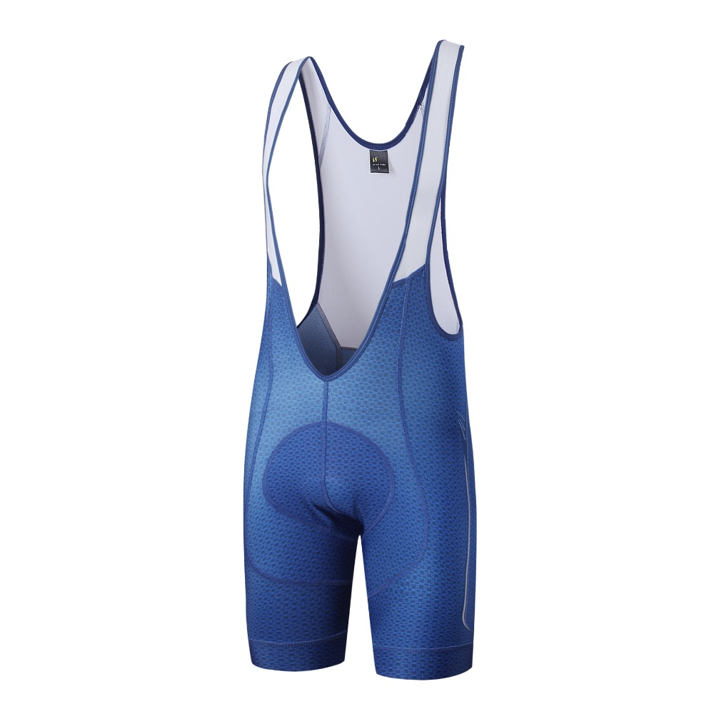 saiBike Pro Cycling Bib Shorts 2018 Mænd Sommer superman Style - Cykling - Foto 1