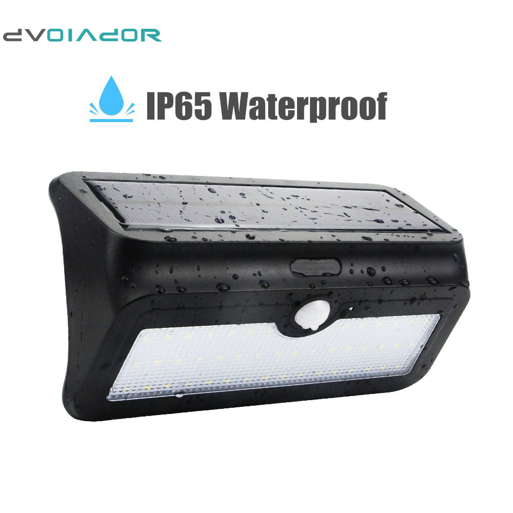 DVOLADOR Solar Light 46 LED Rechargeable Waterproof Indoor/Outdoor Wireless,1000 Lumens  ...