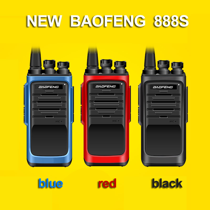 bilder für Neue baofeng bf-888s professional walkie talkie bf 888 s. generation 5 watt uhf 400-480 mhz tragbare zwei 2-wege-radio ptt für jagd
