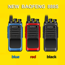 New Baofeng BF-888S Professional Walkie Talkie BF 888S 5th Generation 5W Power UHF 400-480MHz Portable Two Way Radio PTT