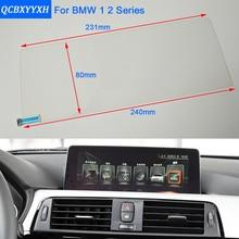 Série QCBXYYXH Para BMW 1 2 F20 Car Styling Navegação GPS Vidro Da Tela De Exibição de Painel Película Protetora Película Protetora