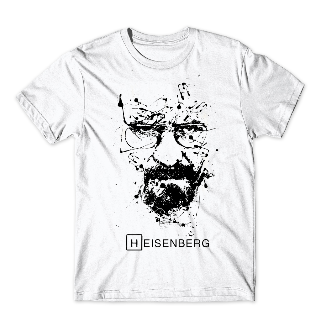 21kinds Breaking Bad T Shirt Men Walter White Cook Tops Heiss