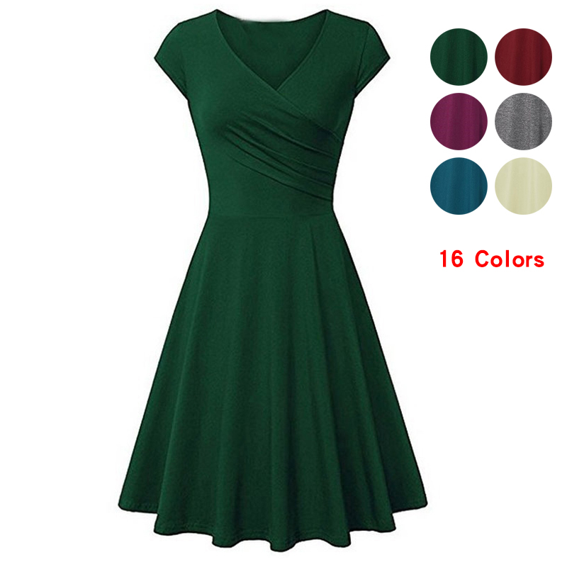 Beautiful Bella Women 2019 V-neck Bodycon Casual Shirt Dress Elastic Cotton Sexy Office Sundress Beach Holiday Plus Size Shirt Dresses Good Taste Women's Clothing