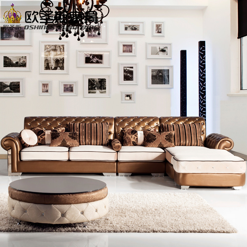 L Shaped Post Modern Italy Genuine Real Leather Sectional Latest Corner  Furniture Living Room Sofa Set Designs Pictures Prices In Living Room Sofas  From ...