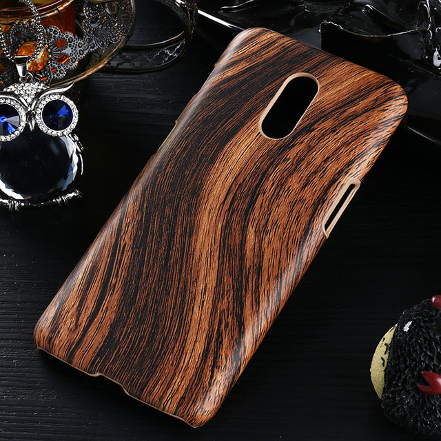 For OnePlus 7 Case Silicone Soft PU Leather Hard PC Cover Case for OnePlus 3 5T 6 6T Vintage Wood Protective Shell Bumper Bags