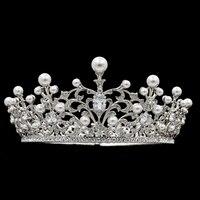 2016 New Design Austrian Crystals Rhinestone Wedding Bridal Tiara Crown Hair Accessories Jewelry Headband SHA8740