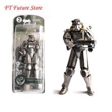 """Iki renk Fallout 4 PVC Action Figure 8 """"güç zırhı dışında giyim oyuncaklar hediyeler koleksiyonları görüntüler Brinquedos için fanlar çocuk"""