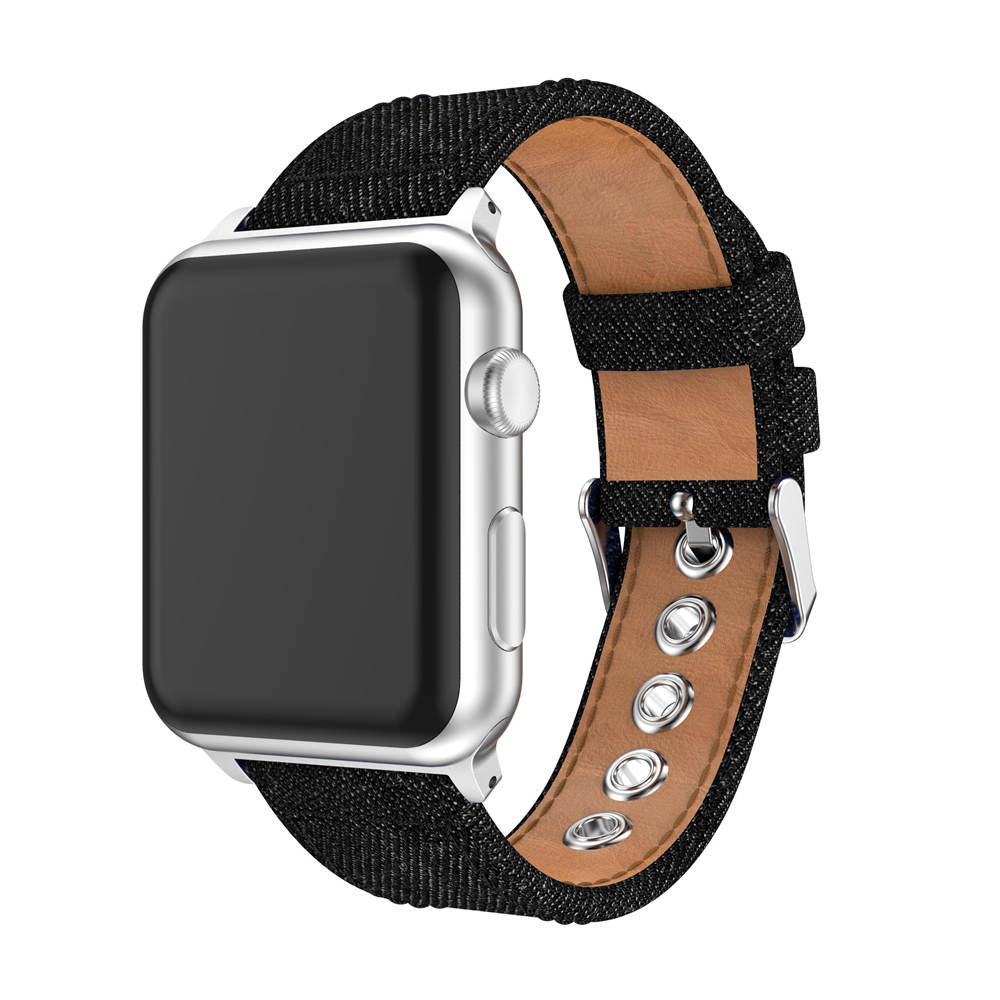 Fashion Fabric Denim Strap watch band For Apple Watch band series 1/2/3 /4 42mm 38mm 40/44mm bands bracelet canvas wiststrapFashion Fabric Denim Strap watch band For Apple Watch band series 1/2/3 /4 42mm 38mm 40/44mm bands bracelet canvas wiststrap