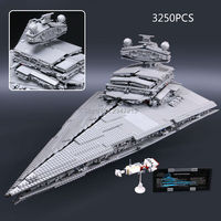 Chaude compatible LegoINGlys Star Wars série Blocs de Construction Grand Royal destroyer Espace navires de guerre modèle brique jouets pour Enfants