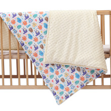 Polar Dot Flannel Baby Blanket Infant Cartoon Unicorn Swaddle Wrap Blankets Newborn Bedding Stroller Cover Kids