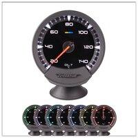 Auto digital fuel gauge GReddi Sirius Meter Series Trust 7 colors Racing Car Gauges Oil Temp Oil Temperature Gauge Universal