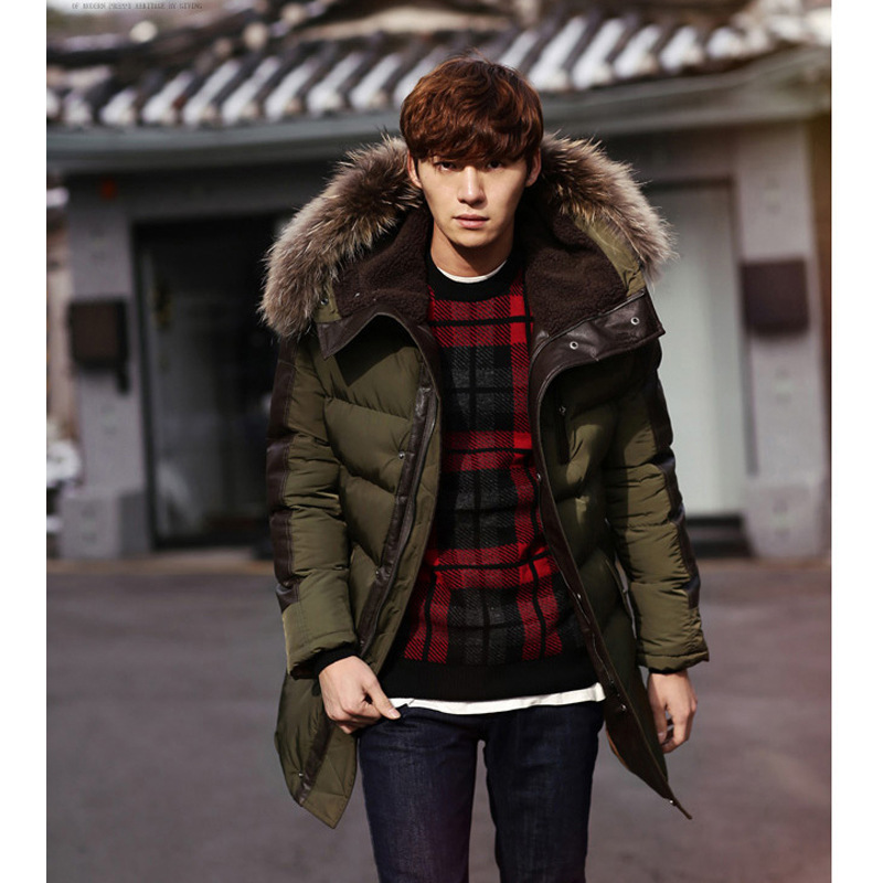 Winter Thicken Lengthen jacket For men Keep warm Man fashion Parka Outwear Homme Casual Coat S-XXL Slim Fit hombre Jaqueta hot sale winter jacket men fashion cotton coat warm parka homme men s causal outwear hoodies clothing mens jackets and coats