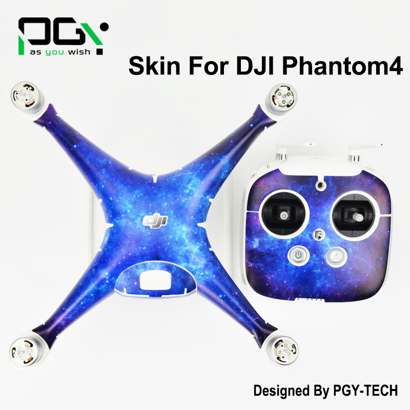 2016 NEW PGY DJI Phantom 4 professional accessories Waterproof Skin Stickers 3M PVC phantom4 Quadcopter Drone