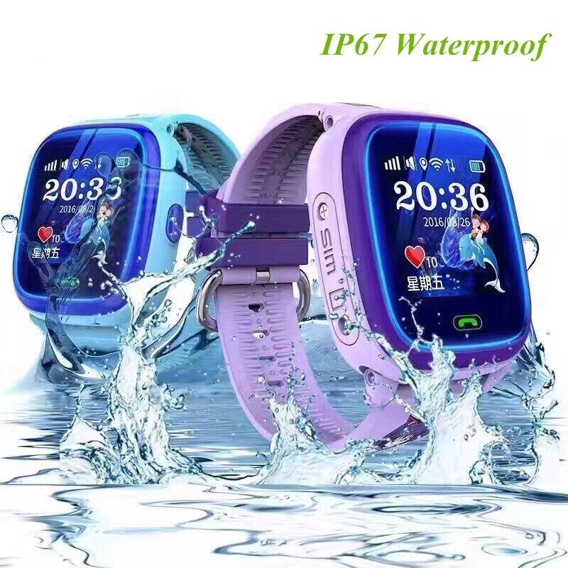 696 Waterproof smart watch DF25 kids Watch clock SOS Call Location Device Tracker children Safe Anti-Lost Monitor pk Q50 Q90 Q60 все цены