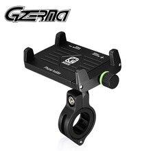 Supporto universale per telefono da bici con rotazione a 360 ° supporto per telefono regolabile in alluminio per moto per supporto ATV per telefono da 4 7 pollici