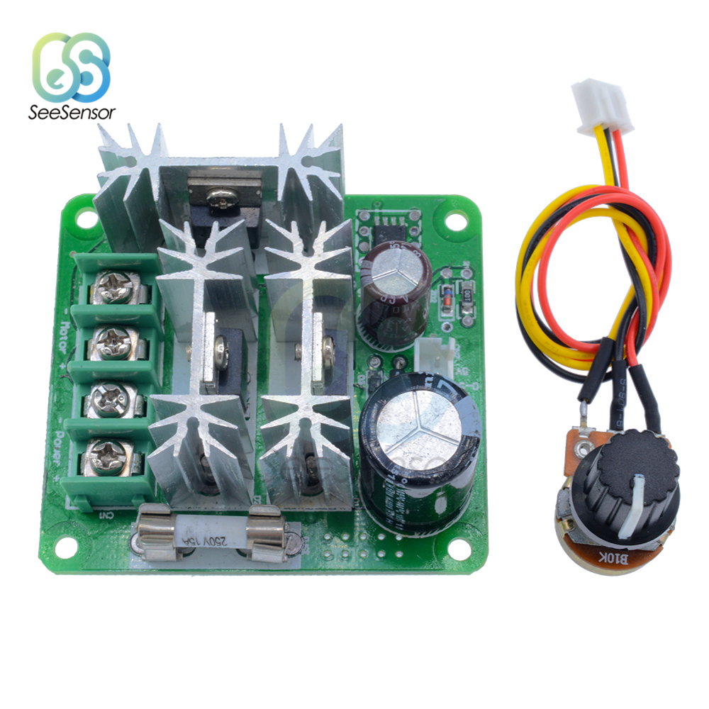 Motor Controller Humorous 1pcs Pwm Dc Motor Speed Controller 6v 12v 36v 60v 90v 15a Pulse Width Modulator