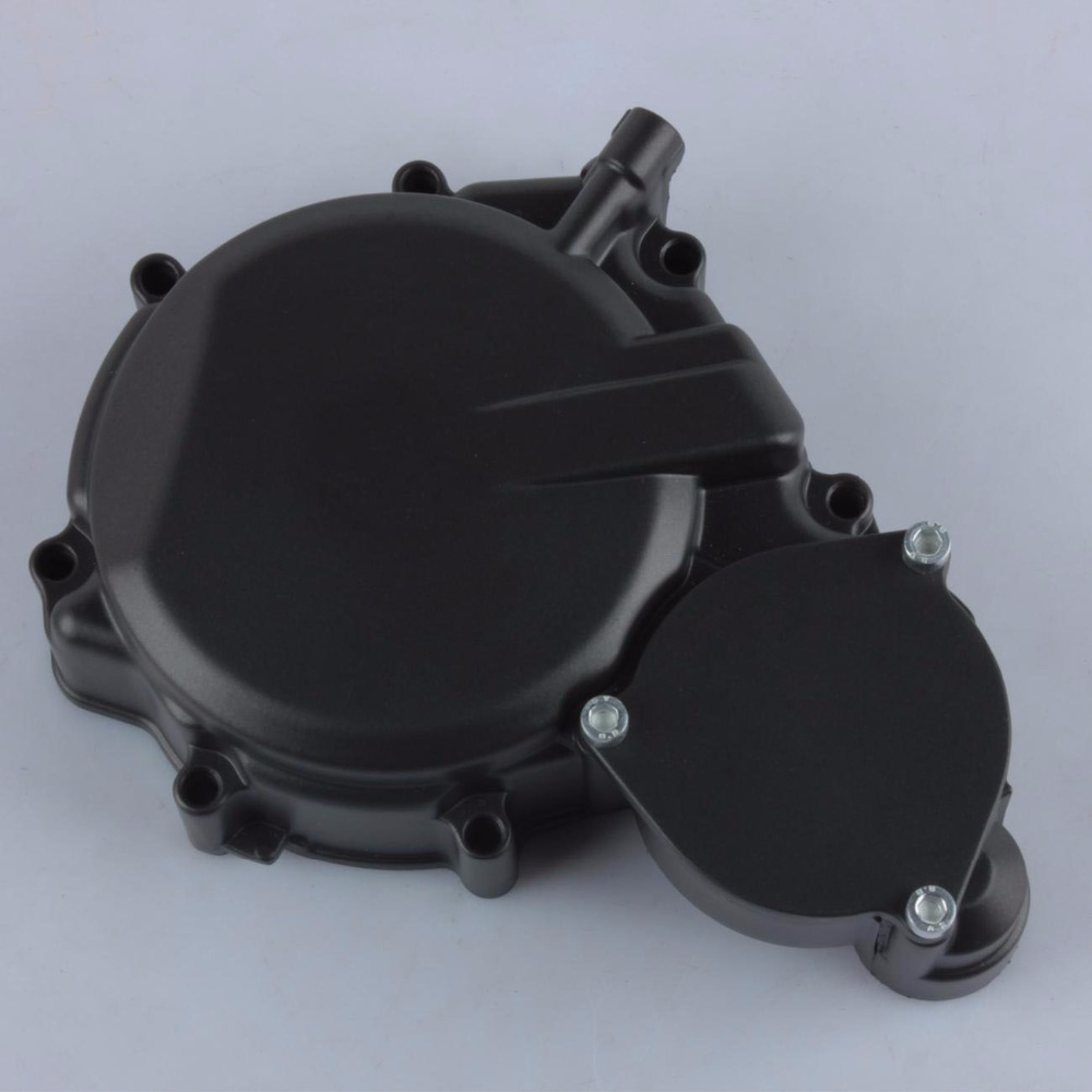 Black Motorcycle Stator Engine Cover For <font><b>Suzuki</b></font> GSXR <font><b>600</b></font> <font><b>GSX</b></font>-R750 2006 2007 <font><b>2008</b></font> 2009 2010 2011 2012 GSXR600 GSXR750 K6 K7 K8 image