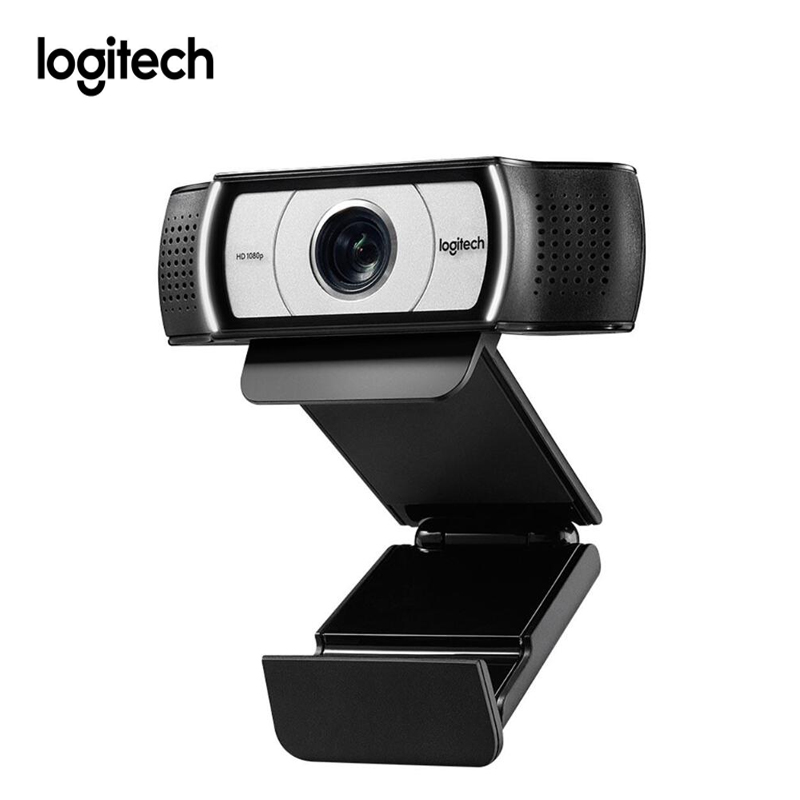 Logitech C930e 1080p Webcam With Cover Privacy Shutter 90 Degree View Web Cam for Computer Lens