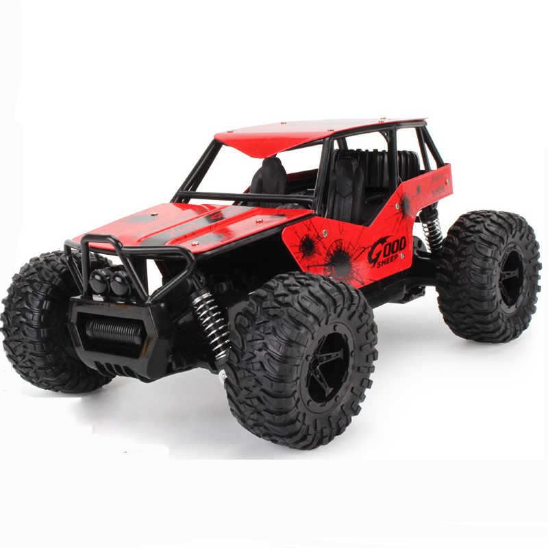 RC Car Control Car 1:16 High Speed SUV Rock Rover Double Motors Big Foot Cars Remote Control Radio Controlled Off Road Car Toys rc car 1 12 high speed rock rover toy remote control radio controlled machine off road vehicle toy rc racing car toys for kids