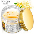 80pcs/ bottle Gold Osmanthus eye mask women Collagen gel whey protein face care sleep patches health mascaras de dormir