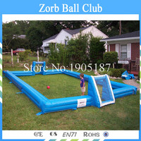 Crazy Sale! Inflatable Football Field / Inflatable Football Pitch /Inflatable Football Game
