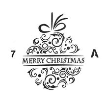 Merry Christmas Word Sticker Painting Stencils for Diy Scrapbooking Stamps Home Decor Paper Card Cake Template Decoration Album merry christmas tree sticker painting stencils for diy scrapbooking stamps home decor paper card template decoration album craft