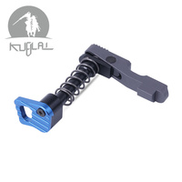 Hot Sale CNC Machine Double Side (left & Right Hand) Magazine Release Catch For M4/M16 Series AEG Hunting Accessories Scope Mounts & Accessories Sports & Entertainment -