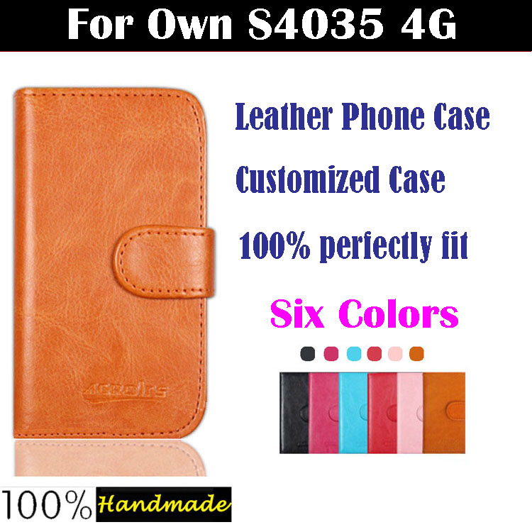 7dd07dc2eb1 Own S4035 4G Case,High Quality Fashion Flip Leather Protective Case For Own  S4035 4G Cover Phone Bag