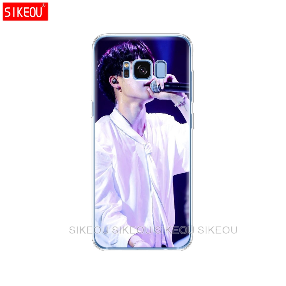 silicone case for Samsung Galaxy S9 S8 S7 S6 edge S5 S4 S3 PLUS phone cover BTS Bangtan Boys Jimin exo