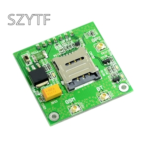 Image 2 - Carte de dérivation GSM GPS SIM808, carte de base SIM808, Module GSMGPRS quadri bande 2 en 1 Module GPSBluetooth intégré