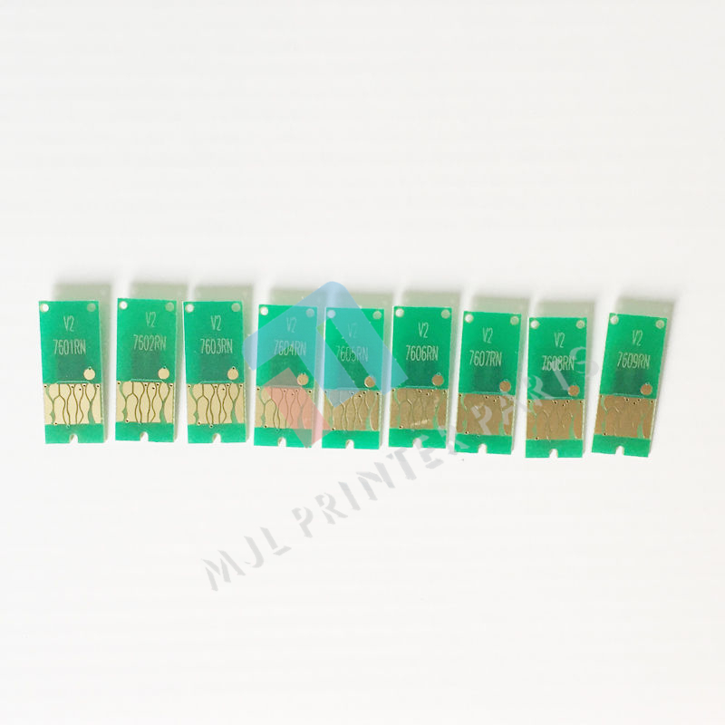 Auto reset chip for EPSO N T7601-T7609 P600 SureColor SC-P600 ARC chip 1set   9xpc