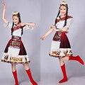 Moderno chino tradicional traje de la danza para Las Mujeres camisas de manga Larga y manga corta vestido de la danza tradicional de trajes de disfraces