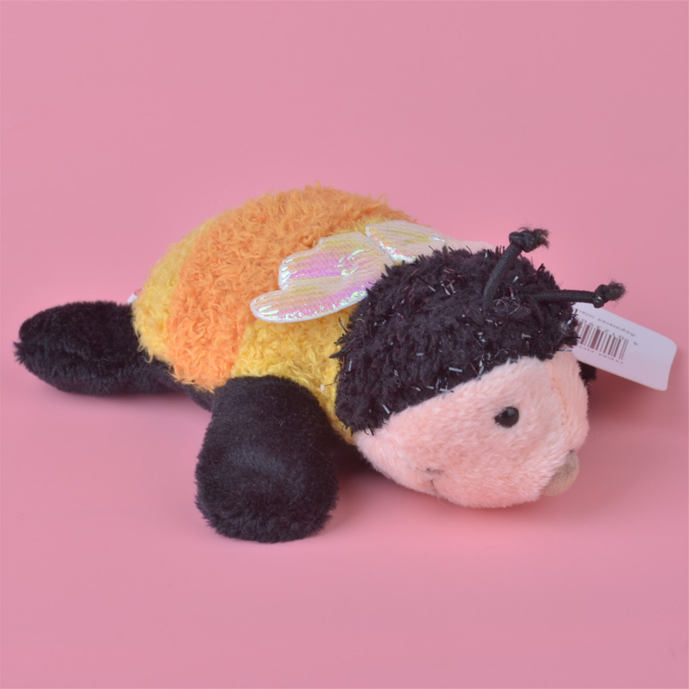 3 шт. оранжевый Цвет Божья коровка плюшевые магнит на холодильник игрушка, дети ребенок кукла подарок бесплатная доставка