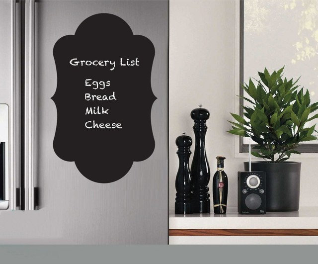 Fridge sticker wholesale vinyl decals chalkboard sticker chalk board wall stickers kitchen home decoration size