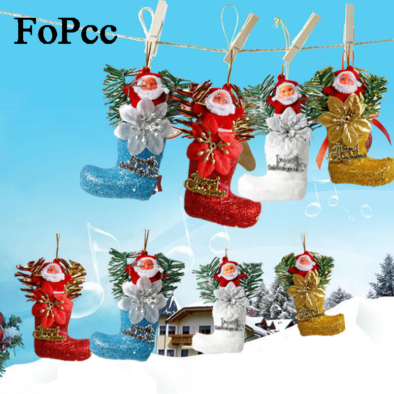 Newest Christmas Decorations 2013: 2018 New Candy Box Boots Christmas Tree Pendant