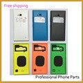 Оригинальный Новый Мобильный Телефон Случае Для Nokia lumia 730 735 Корпус Назад Крышка Батарейного Отсека Дверь Корпус + Боковая Кнопка Ключевые Замена + ЛОГОТИП