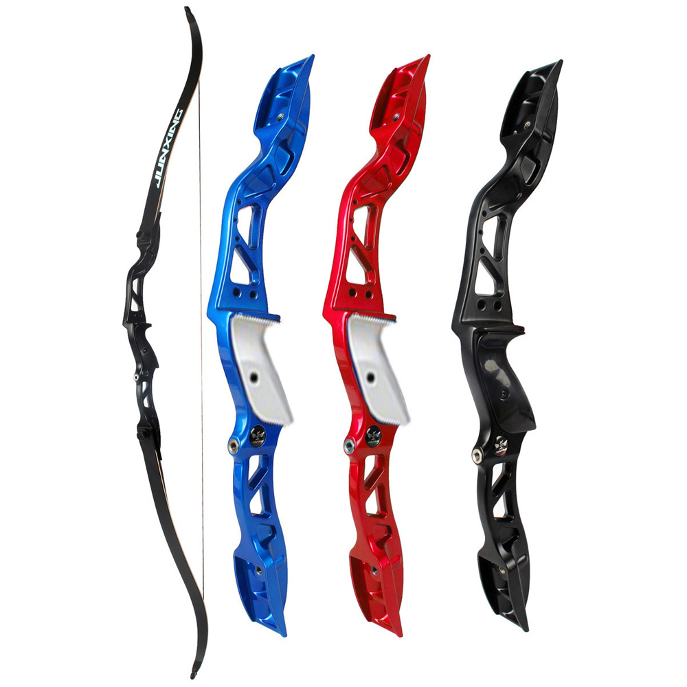 3 Color 20-36Lbs American Hunting Bow Recurve Bow Black/Red/Blue Archery with Sight and Arrow Rest for Outdoor Hunting/Shotting 20 55lbs black tartar recurve bow laminated bow for outdoor sport hunting