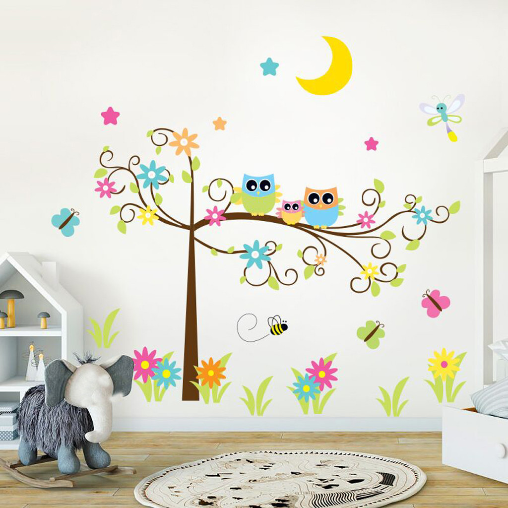 Family Kitchen Wall Sticker Bedroom Vinyl Decal Home Decoration Removable Mural