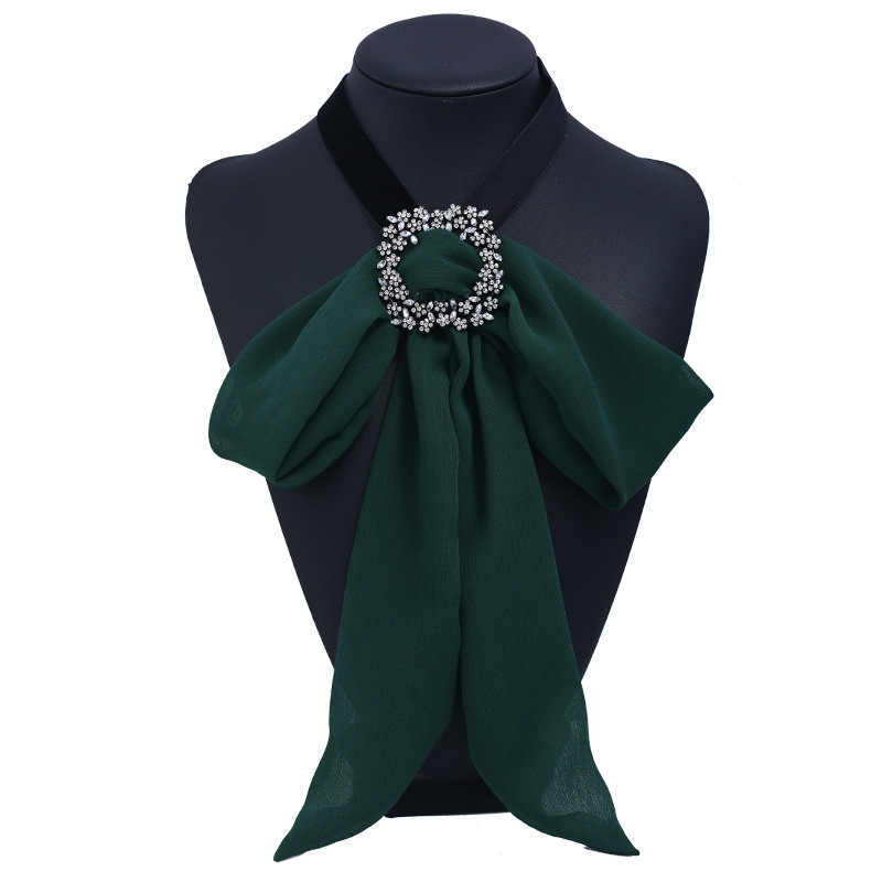 Vintage ผ้าริบบิ้นโบว์เข็มกลัดเข็มกลัดสำหรับผู้หญิง Bowknot Tie คลิป Broches Frauen เสื้อคริสตัล Bee เข็มกลัดเครื่องประดับ
