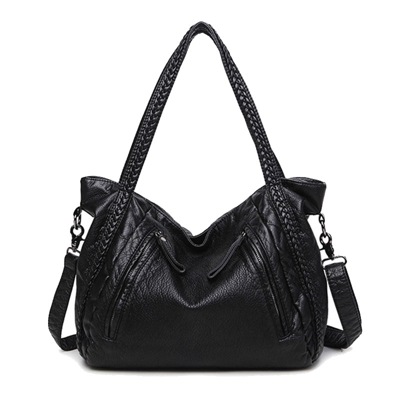 Women Handbags 2017 Large Soft Leather Bag Ladies Crossbody Bags For Women Shoulder Bags Female Big Tote Sac A Main Famous Brand kzni women leather handbags genuine leather women messenger bags female purses and handbags sac a main bolsa feminina 1441