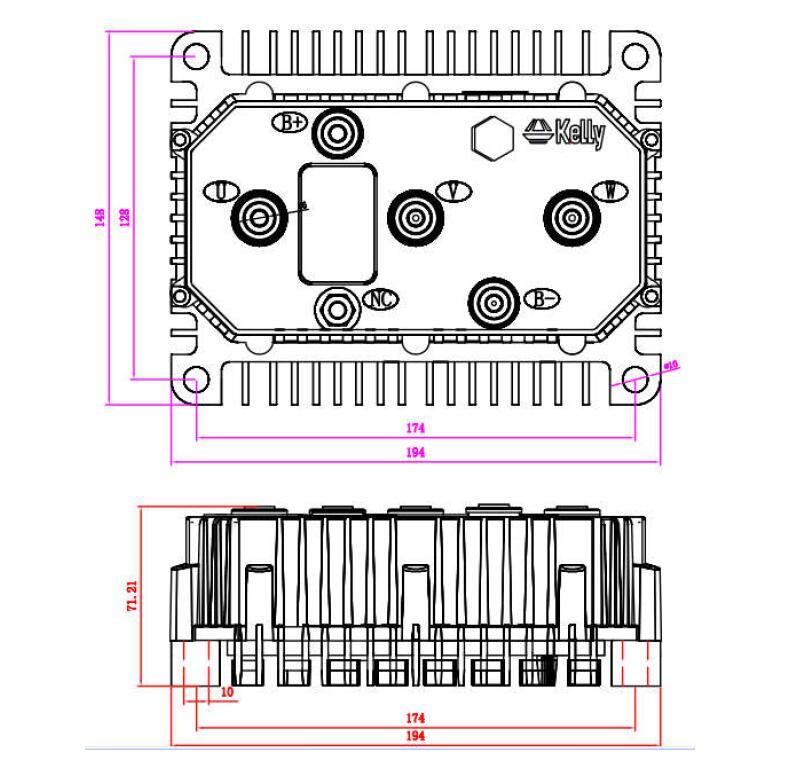KLS7245N drawing