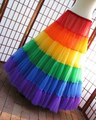 Free Ship In Stock Hot Sales Adjustable Waist Colorful Wedding Bridal Petticoat Underskirt Crinolines for Wedding Dresses A011