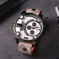 Diesel LITTLE DADDY Series Dual Time Zone Multi function Chronograph Men's Watch DZ7409