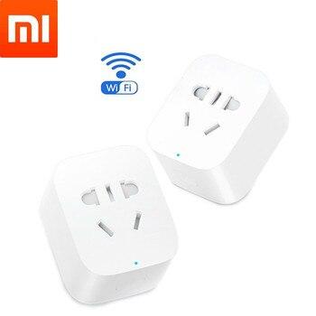 Xiaomi Mijia Smart Power Wifi Socket Plug Basic Wireless Remote Control WiFi APP Timer Switch Powercube Smart home