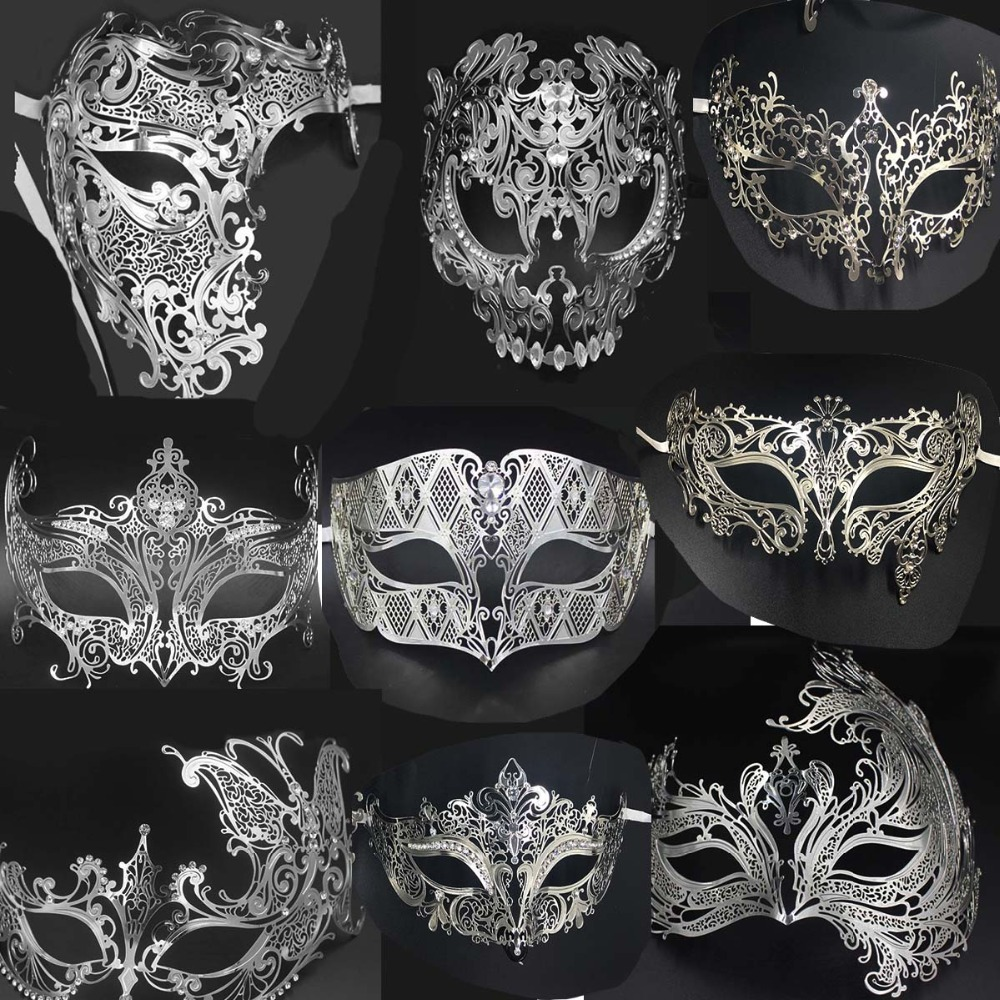 Laser Cut Filigree Masquerade Mask,10+patterns to Pick up Party Prom Mardi Gras