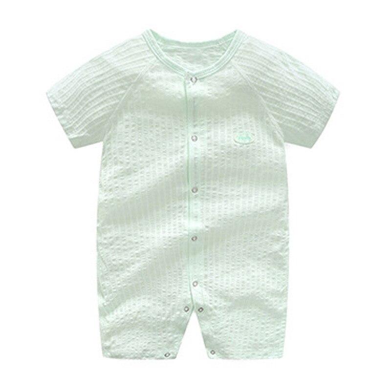 2018 zomer baby meisje rompertjes katoen baby meisje kleding korte - Babykleding - Foto 4