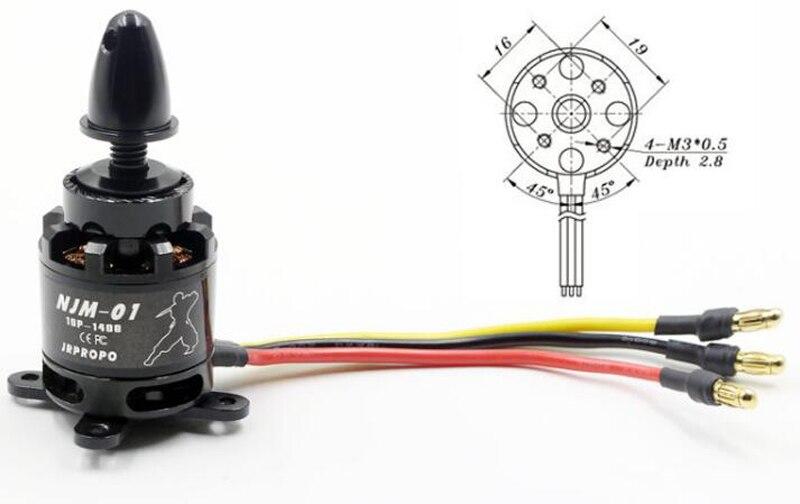RC Model 2212 Brushless Motor 1400KV Motors With M3 Screws 6mm for GEMFAN APC Propeller FPV Drone SU27/F330/380/F450 X2212 Motor