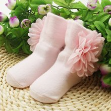 Baby Girls Princess Flowers Socks
