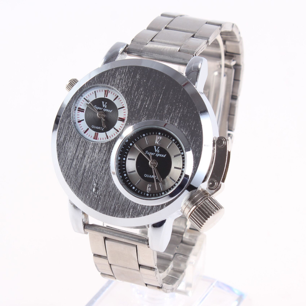 stainless brand watches in on from steel casual wwoor mens style new quartz date day watch sports seen item