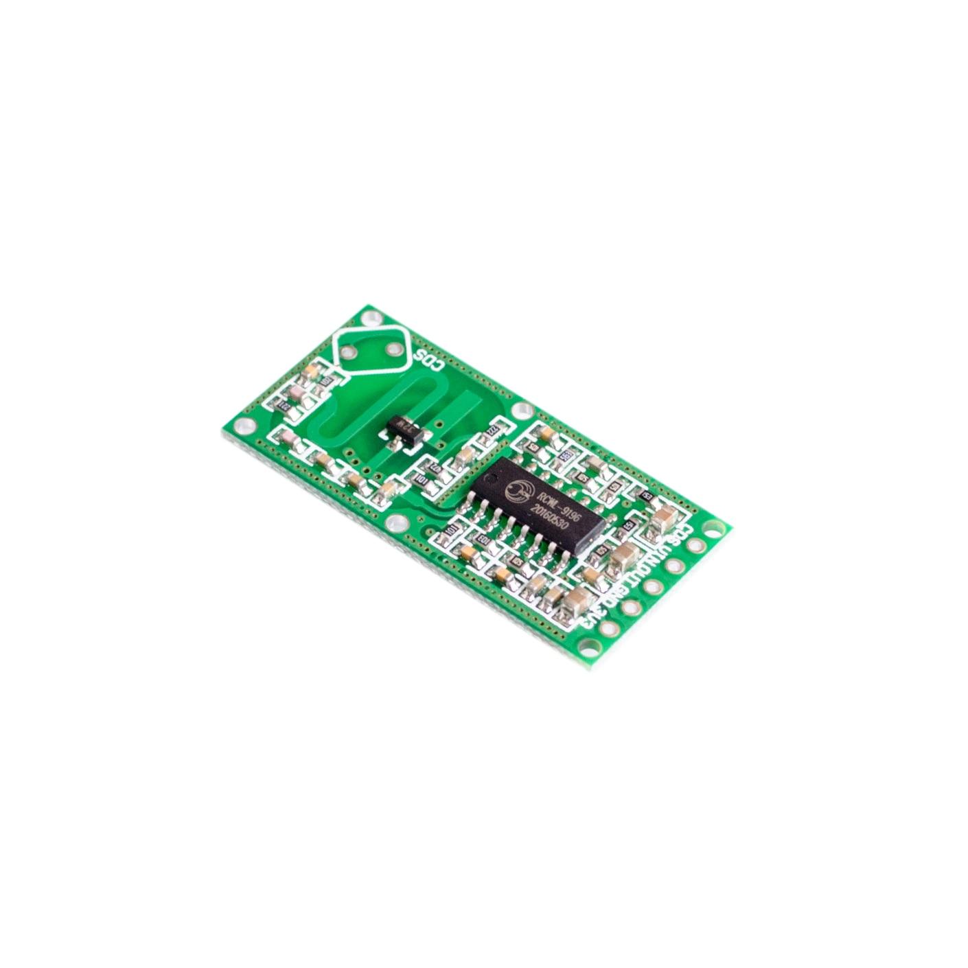 Capteur Intelligent de module de commutateur dinduction de corps humain de module de capteur radar à micro ondes de 50pcs RCWL 0516-in Circuits intégrés from Composants électroniques et fournitures on AliExpress
